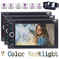 """Wholesale Wireless Audio Video Receiver - EinCar Double-DIN car DVD receiver 6.2"""" Vehicle Audio Receivers Bluetooth 3 choices for UI Colorful Backlight Wireless Remote Rearview"""