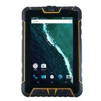 lector usb de android al por mayor-ST907 Rugged Tablet PC a prueba de agua QR 1D 2D lector de código de barras láser Escáner Android PDA portátil de mano UHF RFID NFC Fingerprint GPS