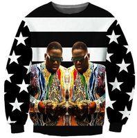 Wholesale Money Counts - 2017 NEW Fashion sweatshirts men or women's tops cool sweatshirt 3D print colorful fat Count money Hot hoodies clothing