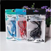 Wholesale bag for mp3 mp4 resale online - 9x16cm Universal Black Clear Zipper Retail Plastic Package bag for Iphone XS Max samsung xiaomi MP3 MP4 Headphones earphone bag