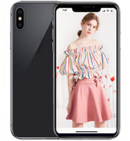 Wholesale wireless wifi camera android - ERQIYU goophone X ix 5.8inch shown 4G LTE 4G RAM 128GB ROM Face ID Smartphones MTK6595 Octa Core unlocked cell phones