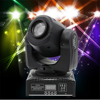 gobo spot light geführt großhandel-Super Beam 30W 60W Mini LED DMX Gobo Moving Head Scheinwerfer Club 90W 11CH DJ Bühnenbeleuchtung Party Disco Moving Heads Light