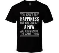ingrosso comprare vestiti di cotone-Acquista un T-Shirt Happiness Car Lover Maglietta con stampa T Shirt Uomo Abbigliamento di marca Magliette divertenti in cotone a maniche corte Vendita calda 2018 Fashion