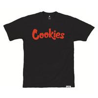 ingrosso vestiti di uomini neri-Biscotti SF Berner Men's Mint Maglietta Black Bay Area T-Shirt Clothing Appare Mens 2018 fashion Brand T Shirt O-Collo 100% cotone