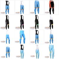 Wholesale bicycle clothing for men - ASTANA CCC team Cycling Winter Thermal Fleece (bib) pants Bicycle Clothing Bike Wear For Men sportwear new D1035