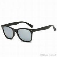 Wholesale yellow plastic frame sunglasses - Fashion New Sunglasses Men CAT EYE 52MM Frame Sunglasses Brand Designer Vintage Women Radiation Protection Sun Glasses 2018 High Quality