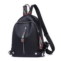 mochilas de mochila venda por atacado-Petminru New Hot Mulheres Mochila Canvas Preto Grande Capacidade Sacos para Adolescentes Senhoras Bonito Mochila Mochilas Pequena Mochila