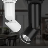 yüksek kaliteli koçanı led çip toptan satış-Yüksek Kaliteli 5 W 12 W LED Parça Işık COB CREE Chip Ticari COB 2-wire Bağlayıcı Için Takip Işık