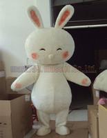 ingrosso vendite di giocattoli adulti-il formato adorabile libero di trasporto del costume della mascotte del coniglio, il partito di lusso di carnevale del giocattolo della peluche della mascotte del coniglio celebra le vendite della fabbrica della mascotte.