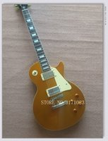 Wholesale Chinese Rosewood - Custom Shop Goldtop Electric Guitar Rosewood Fretboard Chinese guitar