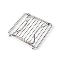 ingrosso rack pieghevole in piedi-Outdoor Camp Mini Stand Support Fold Bracket Barbecue portatile Grill Rack Head Grill in acciaio inox Pot Rack 25cf ii