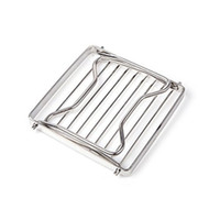 Wholesale grill pieces - Outdoors Camp Mini Stand Support Fold Bracket Portable Barbecue Furnace Rack Head Grill Stainless Steel Pot Racks 25cf ii