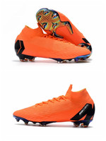 Wholesale Elite Football Boots - 2018 top quality mens soccer cleats MERCURIAL SUPERFLY 360 ELITE FG kids soccer shoes boys football boots high ankle scarpe da calcio Hot