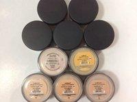 beleuchteter schleier großhandel-Makeup Minerals Foundation Puder lose 13 Farben 8g C10 hell / 8g N10 ziemlich leicht / 8g mittel C25 / 8g mittel beige N20 / 9g Mineralschleier DHL