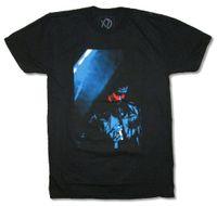 nueva camiseta corta foto al por mayor-The Weeknd Stage Photo Black T Shirt Nuevo XO oficial Nueva marca de moda para hombre de manga corta de algodón camisetas 2018 Short de moda
