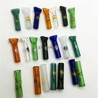 Wholesale Mini Herb - Glass Rolling Tips Heady Tip Filter Cigarette Tobacco Dry herb cypress phuncky Holder Hill's Mini Smoking Pipes Hill pipe steamroller