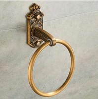 ingrosso chiodi antichi-Portasciugamani per unghie Free Bronze Classic Accessori per il bagno Portasciugamani