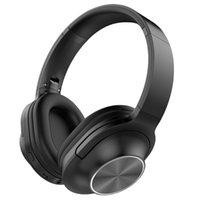 casque de temps achat en gros de-Casque Bluetooth stéréo sans fil Sports Courir Pliant Noise Annulation Écouteurs sans fil Écouteurs Durée de veille jusqu'à 200 heures HD Cal