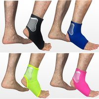 Wholesale green pain - Custom Logo Ankle Brace Compression Sleeve for Basketball Volleyball Sport Breathable Ankle Support for Injury Recovery Joint Pain G440S