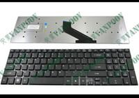 acer 571 toptan satış-Yeni ve Orijinal Dizüstü Laptop klavye Için Acer Aspire 5830 5830 T 5830G 5755 5755G, V3-571-6800 V3-571-6643, Ağ Geçidi NV55 NV57 Siyah