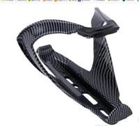 racks cycling al por mayor-Nueva llegada de la fibra de carbono de montaje en carretera Bicicleta Bike Ciclismo al aire libre Deporte de ciclo titular de la botella de agua Holding Rack Cage