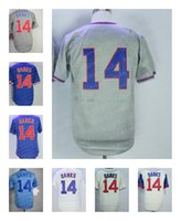 Wholesale 1969 Baseball - Men's Chicago #14 Ernie Banks Retired 1968 1969 M&N Cooperstown Throwback Jersey Stitched