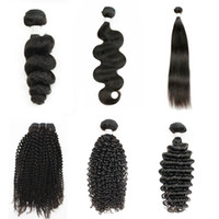 Wholesale mongolian afro kinky human hair weave for sale - Kiss Hair Bundle Brazilian Virgin Human Hair Straight Body Loose Deep Wave Jerry Curly Afro Kinky Curly Grade A Natural Color