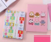 pomme mini coque achat en gros de-Nouvelle arrivée mignonne bande dessinée animaux de compagnie cas de protection pour iPad Mini 2 3 4 cas de stand en cuir 9,7 pouces iPad Pro Air 10.5 Pro 2 pliant coque complète