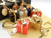 rhinestone star ring 2018 - Factory Sell High Quality Fashion Letter Lock Metal Keychain Letter key ring Bag chain Man Woman's decoration More Style