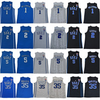 102469a51 Duke Blue Devils Jersey 35 Marvin Bagley III 1 Zion Williamson Stitched 2  Cam Reddish 5 RJ Barrett College Basketball Jerseys