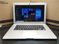 Wholesale 14 inch notebook intel laptops resale online - 6000mAh Battery bluetooth inch G RAM G EMMC Intel Atom X5 Windows10 HDMI WIFI System Laptop computer notebook