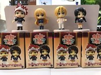 Wholesale accessories for action figures resale online - Shokugeki No Soma set Soma Yukihira Action Figures Food War Takumi Tadokoro Megumi Doll PVC figure for Kids Phone Accessories