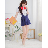 Wholesale japanese costumes adult - Sexy Adults Toys Products Japanese School Wear Student Uniform Sexy Erotic Costumes girls sailor moon cosplay Lingerie for Women