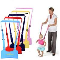 correa de bebé niño pequeño al por mayor-Cuidado de la madre Baby Walking Belt Toddler Walk Asistente de aprendizaje Arnés de pecho Suave chaleco acolchado Baby Gear Wings Wings