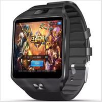 Wholesale QW09 G Smart Watch Android Bluetooth Wristwatch MTK6572 Dual Core MB RAM GB ROM Pedometer G WCDMA Smartwatch Phone MQ10
