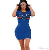 ingrosso abito di fasciatura più le donne di formato-NUOVO Plus size Sexy Club Dress 2018 Women mini vestido irregolarità t-shirt Abito estivo stile benda Bodycon Beach dress
