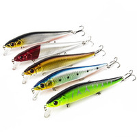Wholesale minnow lure topwater for sale - Group buy 5PCS Fishing Lure Crankbaits Topwater Hard Bait CM G Artificial Baits Minnow Fishing Wobbler Y18100906