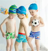 9e96558546bbe Beach Swimwear Shorts For 2-10T Boys Summer Diving Swim Wear Cartoon  Printed Toddler Baby Kid Child Swimming Trunks Swimsuit Free DHL