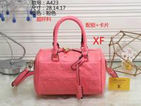 Wholesale vintage dress shops - Luxury Designer PU Leather Handbags for Women sac a main High Quality Tassel Shopping Tote Vintage Fashion Shoulder Bags wallets purse 002