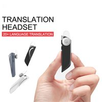 Wholesale Intelligent Language Instant Translator Voice Wireless Bluetooth Earphone Headphones Traductor for IOS Android Pking