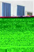 weiße baumwoll-blackout-vorhänge großhandel-Kostenloser Versand! Weiße Monnet Croscill Multicolor 100% Baumwolle Französisch Vorhang Zimmer Vorhang Fertigprodukt-hb