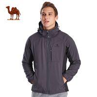 Wholesale softshell hunting jackets online - CAMEL Men s Winter Softshell Outdoor Jackets Waterproof Breathable Windbreaker Hunting Fishing Camping Rain Climbing Jacket