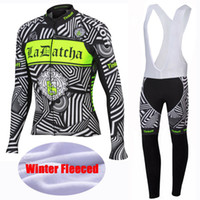 Wholesale Winter Bike Clothing - 2016 Saxo Bank Tinkoff Winter Thermal Fleece Cycling Jerseys Bicycle Sportswear Ropa Ciclismo Cycling Clothing  Long Bike Jersey