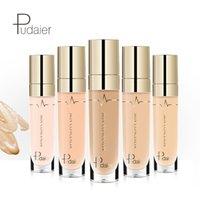 крем для контроля цвета оптовых-Новое прибытие Pudaier макияж маскирующее 22 цвет жидкости крем для лица Идеальное покрытие поры темные круги масло-контроль водонепроницаемый 96 шт.