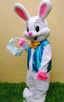 2018 brand new hot Mascot Costume Adult Easter Bunny Mascot Costume Rabbit Cartoon Fancy
