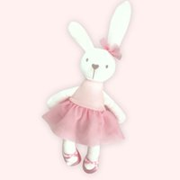 Wholesale soft stuffed animals for babies for sale - Pudcoco Cute cm Large Soft Stuffed Animal Bunny Rabbit Toy Baby Kid Girl Easter Gift for baby girls