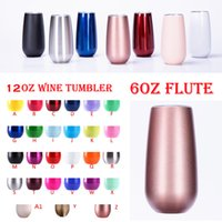 Wholesale art castings - Unicorn 12oz tumblerS insulated 6oz stainless steel tumbler water bottle party wedding beer mugs with lids wine glasses rose gold tumblers