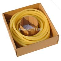 Wholesale latex tube slingshot for sale - Group buy 5M Strong Tension Slingshot catapult Latex tube slingshot Rubber bands