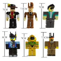 Wholesale toys games for boy - 6pcs set Roblox Figure jugetes 2018 7cm PVC Game Figuras Roblox Boys Toys for roblox-game Toys Gift For Children Birthday Party