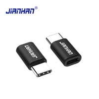 Wholesale Combination C - JianHan USB Type C Converter Adapter Micro USB to Type-C Charging Adapter for Huawei P10 LG G6 G5 Xiaomi 4C OnePlus 3T Lumia 950